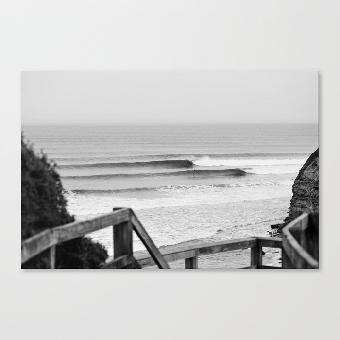 Wave of the day bells beach victoria australia canvas print