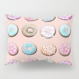 Donuts, pink Pillow Sham