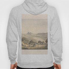 Australian Landscapes by Eu von Guerard Date 1865  Romanticism  Landscape Hoody
