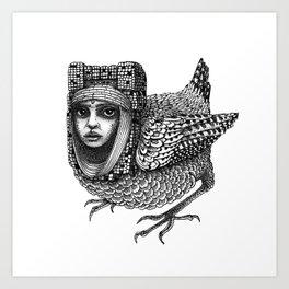 Strange Bird Art Print