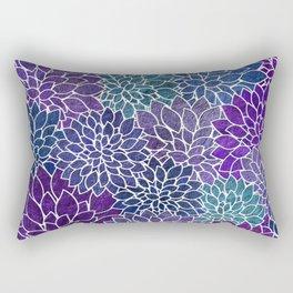 Floral Abstract 22 Rectangular Pillow