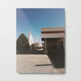 The Wigwam Motel Metal Print