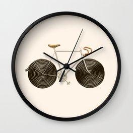 Licorice Bike Wall Clock