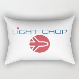 Light Chop Aviation Rectangular Pillow