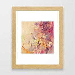 Cyclamen By Lamplight Framed Art Print