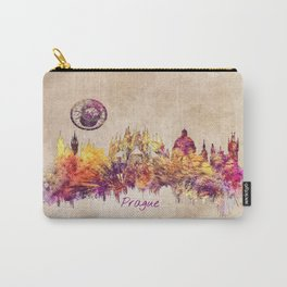 Prague skyline panorame Carry-All Pouch
