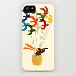 Whimsical Journey iPhone Case