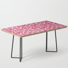 Branches - pink Coffee Table