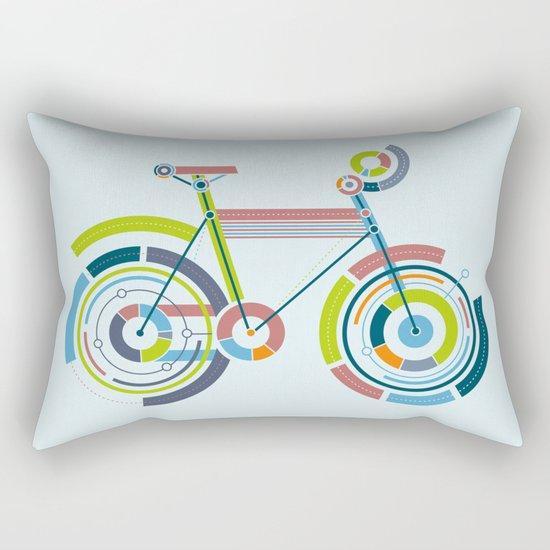 Bicyrcle Rectangular Pillow