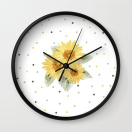 Let's have a lovely day Wall Clock