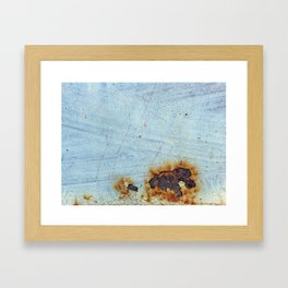 Rusty surface Framed Art Print