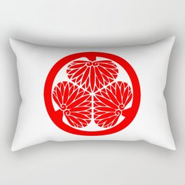 Lone Wolf and Cub Crest Rectangular Pillow
