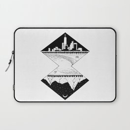 City by the Mountains Laptop Sleeve