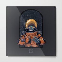 Space Goblin Metal Print