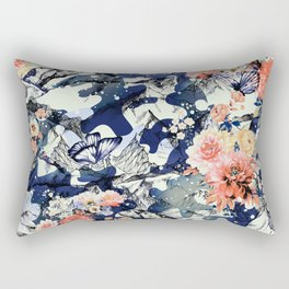 Flowery camo Rectangular Pillow