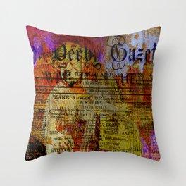 Willie Dixon Throw Pillow
