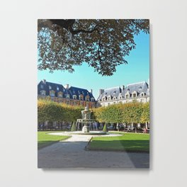 Place des Vosges in early Autumn Metal Print