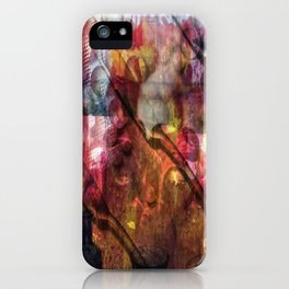 Knives And Pearls: The Black Fire Protests iPhone Case