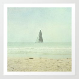 Sail Away - Newport Beach California Art Print