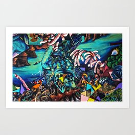 Enlightened Drifter Art Print