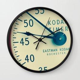 Keeping Time with Kodak Wall Clock