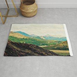 Denali Mountains Rug