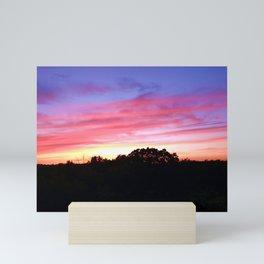 Wisconsin Sunset Mini Art Print