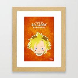 LoL: Ezreal ADC Framed Art Print