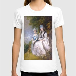 "Thomas Gainsborough ""Hester, Countess of Sussex, and Her Daughter, Lady Barbara Yelverton"" T-shirt"