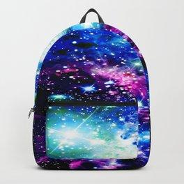 Fox Fur Nebula Dark & Vibrant Backpack