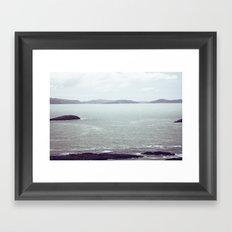 From the Depths Framed Art Print
