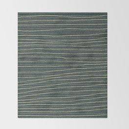 jungle stripe Throw Blanket