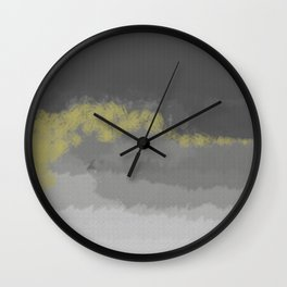 Ray of Sunshine Wall Clock