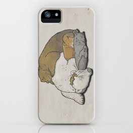 It's a boring winter. iPhone Case