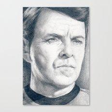Beam Me Up Scotty (Star Trek TOS) Canvas Print
