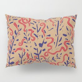 Indian Snakes Pillow Sham