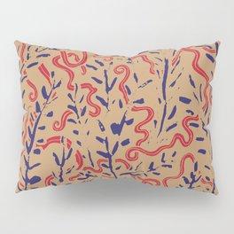 Indian Snakes Pillow Sham