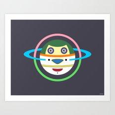 Spaceman 1 Art Print