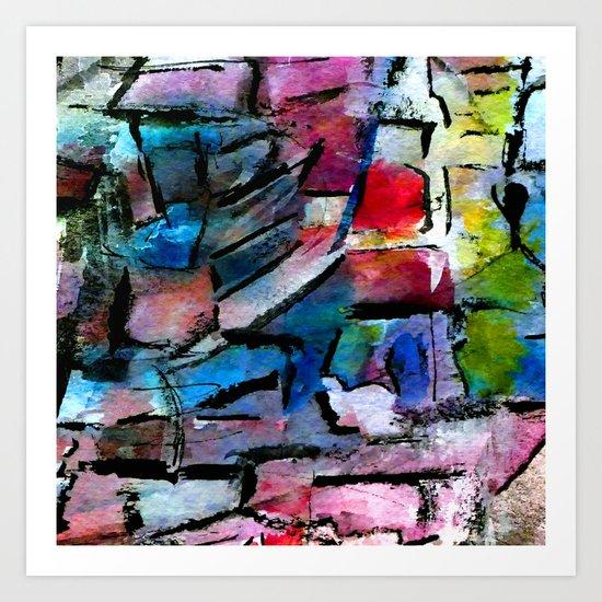 culture landscape Art Print