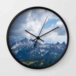 Above Paradise Wall Clock