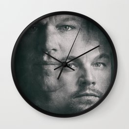 The Departed, Martin Scorsese movie poster, Leonardo DiCaprio, Matt Damon, american mafia film Wall Clock