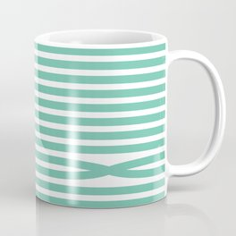 Stripes - Baby Green Coffee Mug