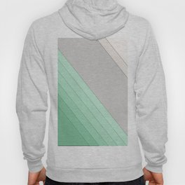 Green , mint , grey , striped Hoody