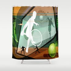 Tennis Shower Curtain