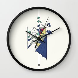 The POW! of love Wall Clock