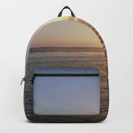 Sunset - La Palmyre, France Backpack