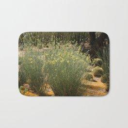 Palo Brea Blossoms Around Desert Milk Weed Bath Mat