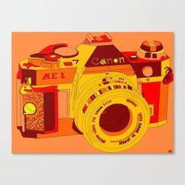 Canon Rebel Camera - Retro Canvas Print