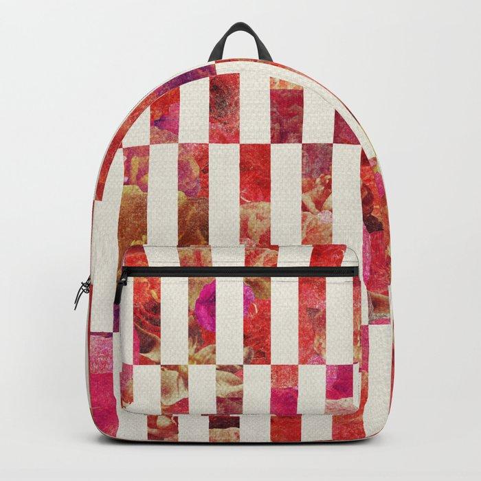 PINK FLORAL ORDER Backpack