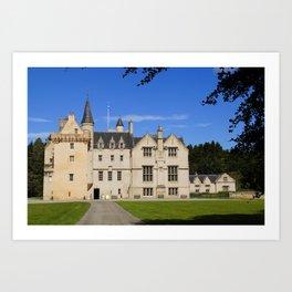 Scotland Brodie Castle castle Cities Castles Art Print